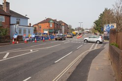 Adelaide Road and Kend Road Junction